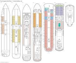 Ms Westerdam Deck Plans by Cruise Deck Plans Radnor Decoration