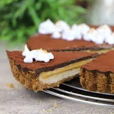 spekulatius toffee tarte no bake cake