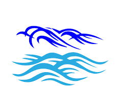 WAVES VECTOR Clipart library