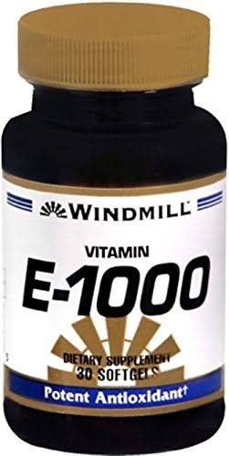 Windmill Vitamin E-1000 - 30 ct