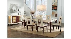 Sofia Vergara Sofa Collection by Savona Ivory 5 Pc Rectangle Dining Room Contemporary