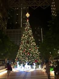 50 Foot Christmas Tree Lighting In Miami
