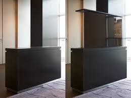 modern tv lift cabinet aguirre design moderne