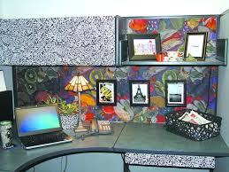 cubicle decoration themes for competition office ideas decorating