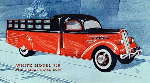 100 1930s Trucks Streamlinded White Truck Designs By Count Sakhnoffsky The Old Motor