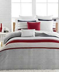 Lacoste Home Auckland Red forter Sets Bedding Collections