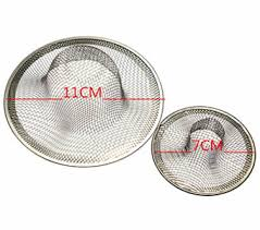 woven mesh hole sink strainer in kitchen bathroom sink