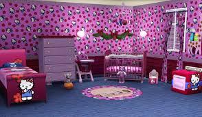 chambre fille hello sims3 baraquesasims les chambres enfants