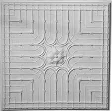 24 X 24 Inch Ceiling Tiles by Decorative Cast Plaster Panels Ceiling Panels Wall Panels