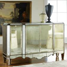 Furniture Mirrored Buffet With Gorgeous And Antique Design