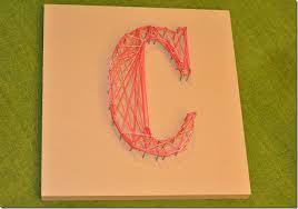 String Art Letters