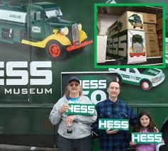 Hess Toy Trucks Encyclopedia - Home | Facebook 1985 Hess Truck Bank 1933 Chevy Fuel Oil Delivery Trucks By Toy Classic Toys Hagerty Articles Colctibles Price List Glasses Bags Signs Used Cars Quincy Il Auto Agency 2014 Hess Truck Space Cruiser 50th Ann Limited Edition New And Helicopter 2006 Shop For Sale In Nj 1964 Marx Box Original Near Mint 2015 Holiday Fire Ladder Rescue Brand New 2011 Flat Bed And Race Car Lights Sounds 2018 Mini Collection Tanker Racer Miniature Mobile Museum Stops In East Rutherford To Celebrate
