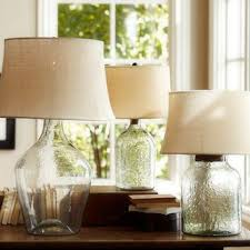 Fillable Table Lamp Clear Glass by Shop Glass Base Table Lamps On Wanelo