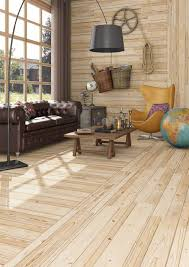 View In Gallery Wood Like Tiles Rustic Look Knotty Pine Vives