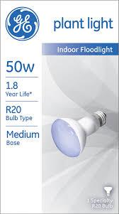 ge lighting 14888 plant light r20 bulb 50 watt incandescent