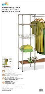 honey can do wrd 02350 freestanding steel closet