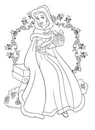 Disney Princess Coloring Printable Pages Colouring Wonderful Free