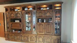 wohnzimmerschrank eiche massiv echtholz p43 rustikal eur