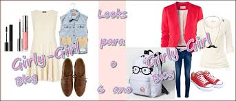 Hiii Girls As My First Post I Decided To Make Some Outfits For Back School 6 And 5 Grade OkCan We Start