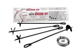 Suncast Shed Shelf Brackets by Arrow Auger Anchor Kit U0026 Reviews Wayfair