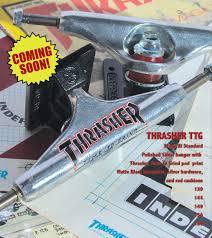 100 Indy Trucks Thrasher Skateboard Truck TTG Stage Xl NC BoardShop