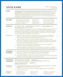 Sample Police Officer Resume Objective For Templates Free