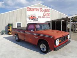 100 67 Dodge Truck 19 D100 For Sale ClassicCarscom CC1157769