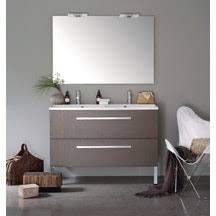 salle de bain cedeo meuble salle de bain cedeo woodstock 2 tiroirs argile 120cm