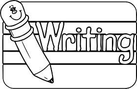 Abc Pencil Writing Text Sign Coloring Page
