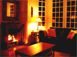 Cosy Living Room Ideas Brown Sofa Decoori Warming Home Interior With Awesome Fireplace Decoration Basement Family