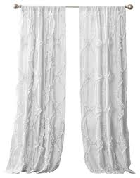 Lush Decor Window Curtains by Wonderful White Window Curtains And Best 20 White Curtains Ideas