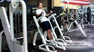 Captains Chair Leg Raise Youtube by Leg Raises Dip Machine Youtube