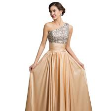 2015 new gracekarin one shoulder sequins casual party dress