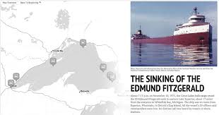 Edmund Fitzgerald Sinking Cause by The Sinking Of The Edmund Fitzgerald A Detroit News Storymap