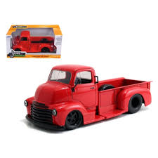 100 Just Trucks JADA 124 1952 CHEVY COE PICKUP JUST TRUCKS RED Perths One Stop