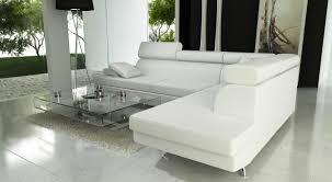 canape d angle en cuir blanc photos canapé d angle cuir blanc