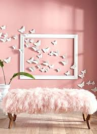 Walls Decoration Ideas Simple Wall Does Our Bold Exclusive Bench And Sheep Fur Cover Give