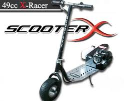 49cc X Racer Gas Scooter