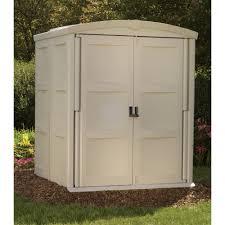 Suncast Outdoor Storage Cabinets With Doors outdoor u0026 garden suncast sheds uk bms4700 stowaway horizontal