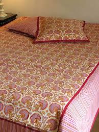 boutis canapé 45 jeté de lit canapé 225x270 cm coton imprimé