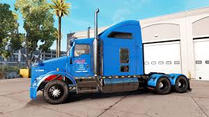 100 Carlile Trucking Skin For Kenworth T800 Truck For American Truck Simulator