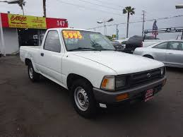 Toyota Pickup Trucks For Sale Nationwide - Autotrader Rare Blue 1988 Toyota Pickup Extra Cab Auto 4wd Very Clean 4cyl Heres Exactly What It Cost To Buy And Repair An Old Truck For Sale Lifted 1990 Classic Car Fort Worth Tx 76190 G Reg Toyota Hilux 4x4 Pick Up Truck Single Cab 23 Petrol Yes For Stkr9530 Augator Sacramento Ca Hiace Pictures Top Of The Line Tacoma Crew Trucks Capsule Review 1992 Truth About Cars Hilux Pick Up 2500cc Diesel Manual