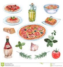 Lasagna Stock Illustrations