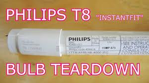 philips t8 led tear the most boring teardown yet