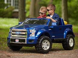 "The All New 2015 Ford F-150 From ""Power Wheels"" Debuts 