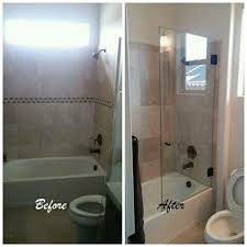 Bathtub Splash Guard Glass by 20 Best Before And After Shower Installs Images On Pinterest