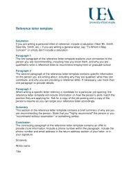 9 Reference Letter From A Previous Employer Examples PDF
