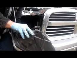 2009 2015 ram headlight bulb change light removal