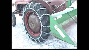 100 Truck Tire Chains For Sale Homemade Tire Chains For The Tractor YouTube