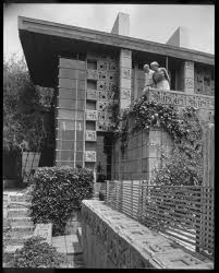 100 Frank Lloyd Wright Textile Block Houses Photo 4 Of 7 In Thieves Stole 200k Worth Of Pieces From